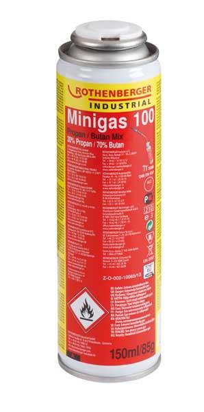 Rothenberger - Minigas 30% propan, 70% butan, 150ml