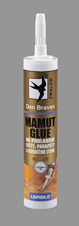 Den Braven - vysokopevnostní lepidlo MAMUT GLUE 290ml bílá. Na