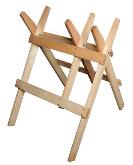 Koza dřevěná na řezání dřeva 77x85x88cm, smrk