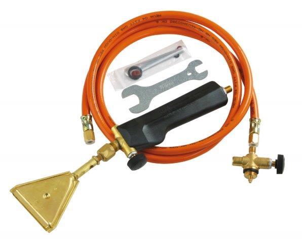 Plynová opalovací souprava na malou PB lahev Meva 1,5 kW