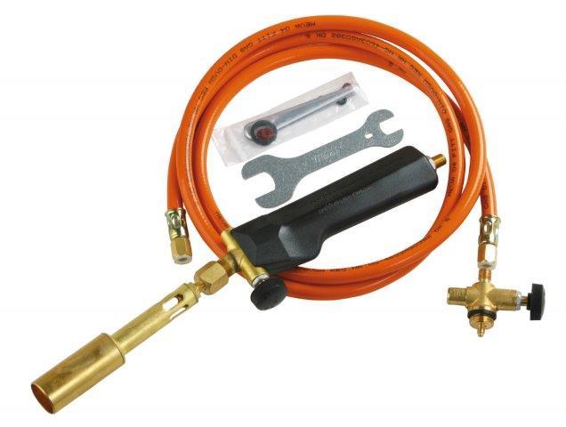 Plynová opalovací souprava na malou PB lahev Meva 3,5 kW