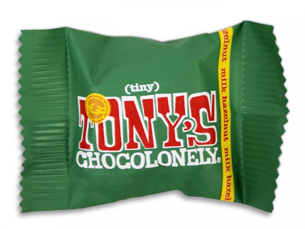 Tony's Chocolonely - mléčná čokoláda, oříšky, 9 gramů
