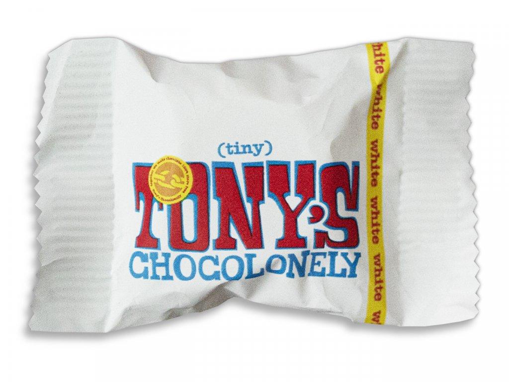 Tony's Chocolonely – bílá čokoláda, 9 gramů