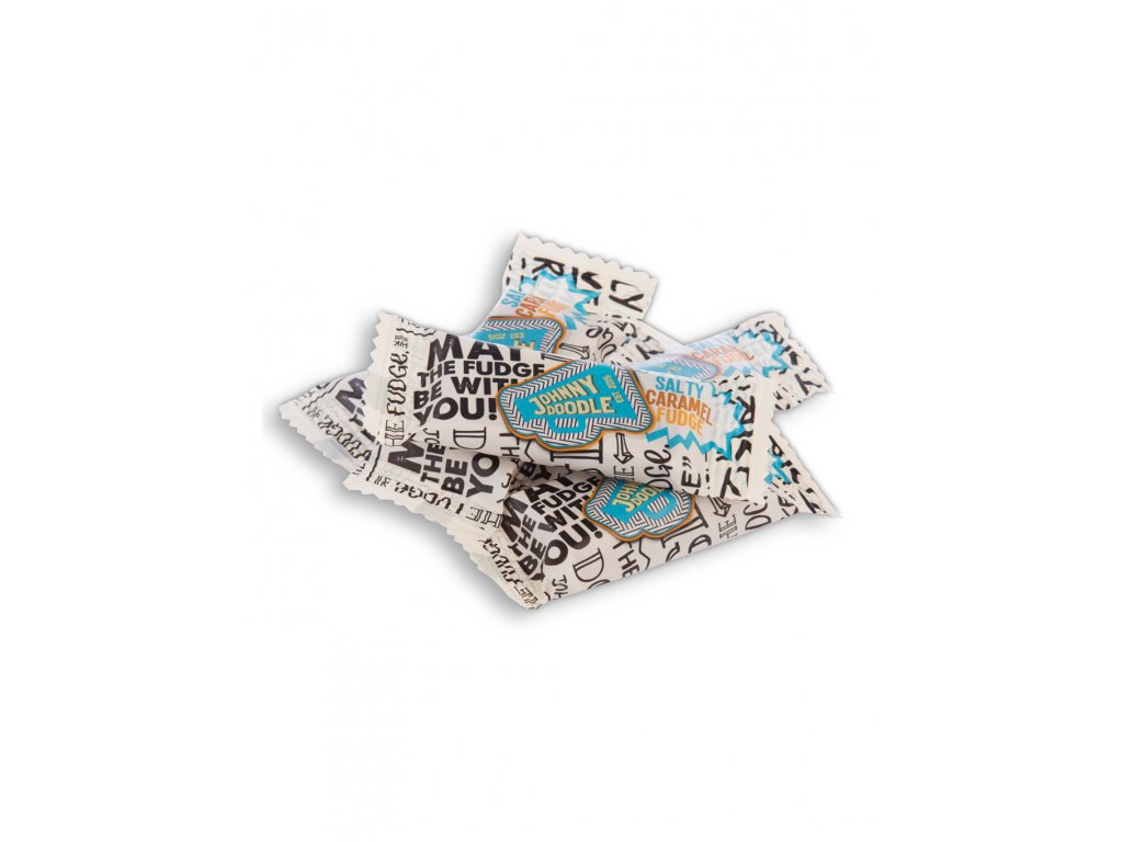 Johnny Doodle - karamelka, mořská sůl, 18 gramů