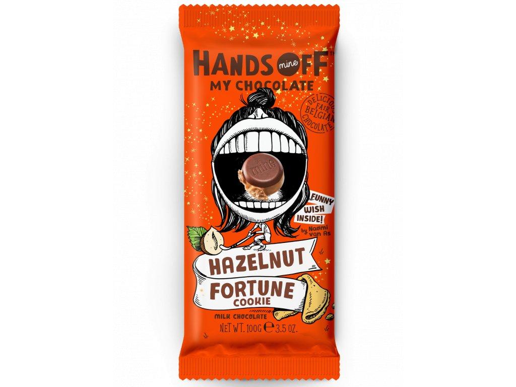 473 hands off my chocolate mlecna cokolada liskove orechy a kolacek stesti 100 gramu