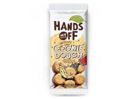 Hands off my chocolate – mléčná čokoláda,sušenkové těsto a čokoládové vločky, 100 gramů
