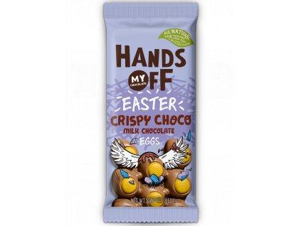 the egg bar, mléčná drcený karamel