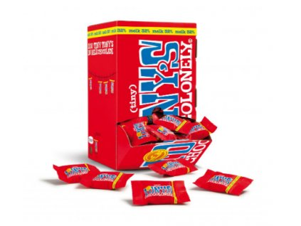 Tony's Chocolonely - mléčná čokoláda, box 900 gramů