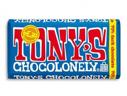 Tony's Chocolonely – hořká čokoláda, 180 gramů
