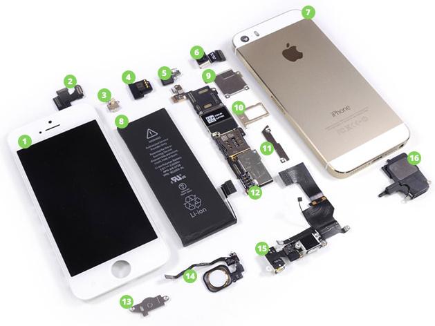 Náhradní díly na mobil