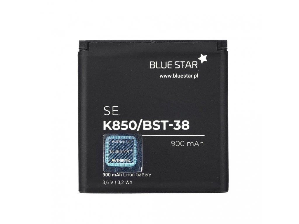 Baterie Sony K850/W580/T650/S500/K770/W890/C902/C510 900 mAh Li-Ion BS PREMIUM