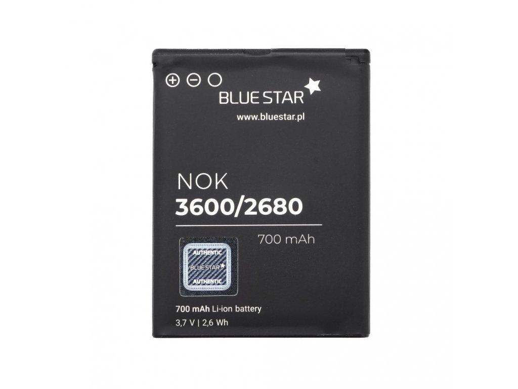 Baterie Nokia 3600 Slide / 2680 Slide / 7610 Supernova / 7100 / X3 Supernova 700 mAh Li-Ion Blue Star