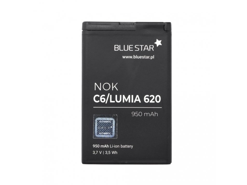 Baterie Nokia C6/Lumia 620 950 mAh Li-Ion Blue Star
