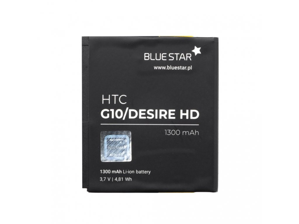 Baterie HTC G10 Desire HD 1300 mAh Li-Ion Blue Star