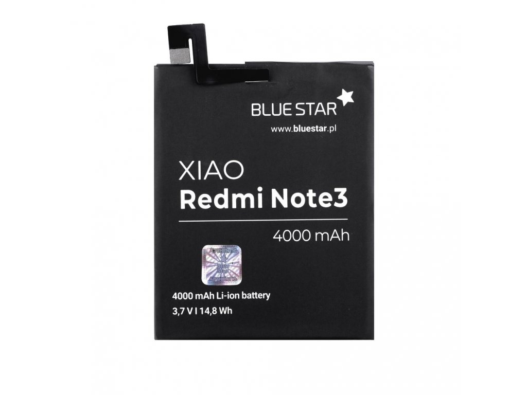 Baterie Xiaomi Redmi Note 3 4000 mAh Li-Ion Blue Star
