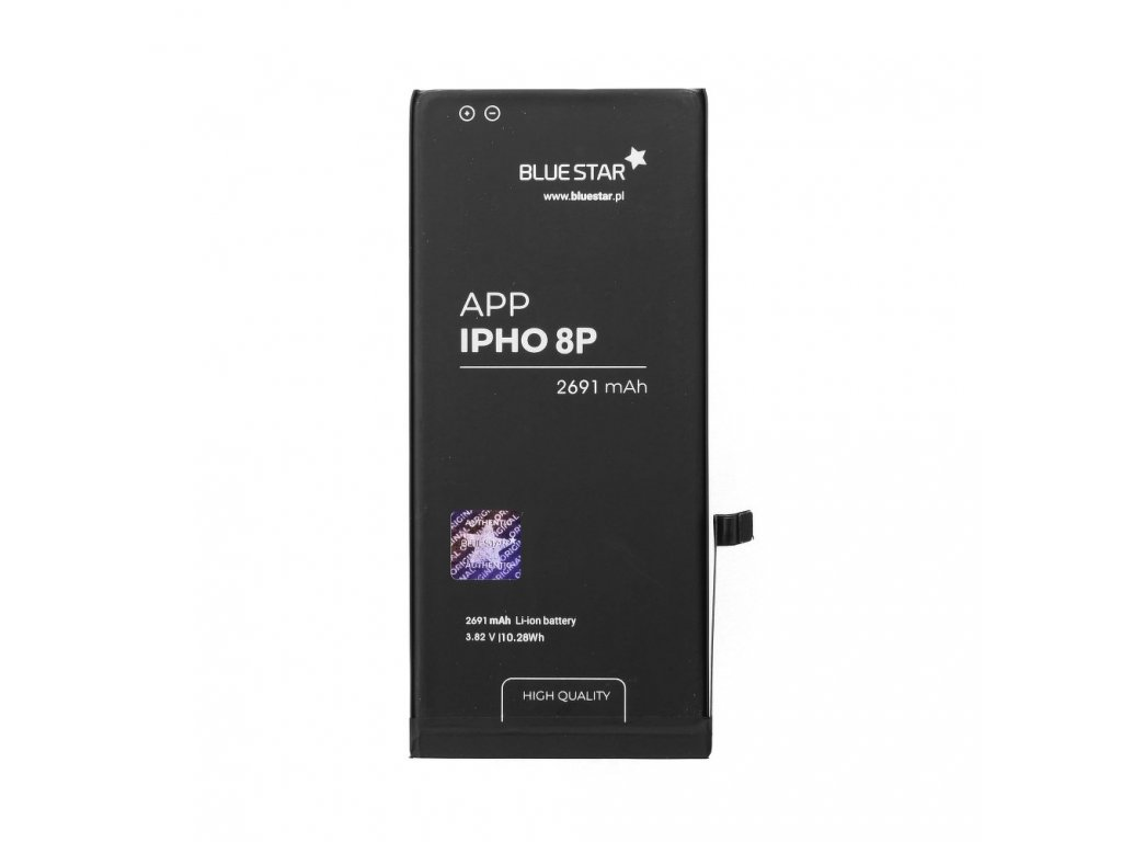 Baterie iPhone 8 plus 2691 mAh Polymer Blue Star HQ