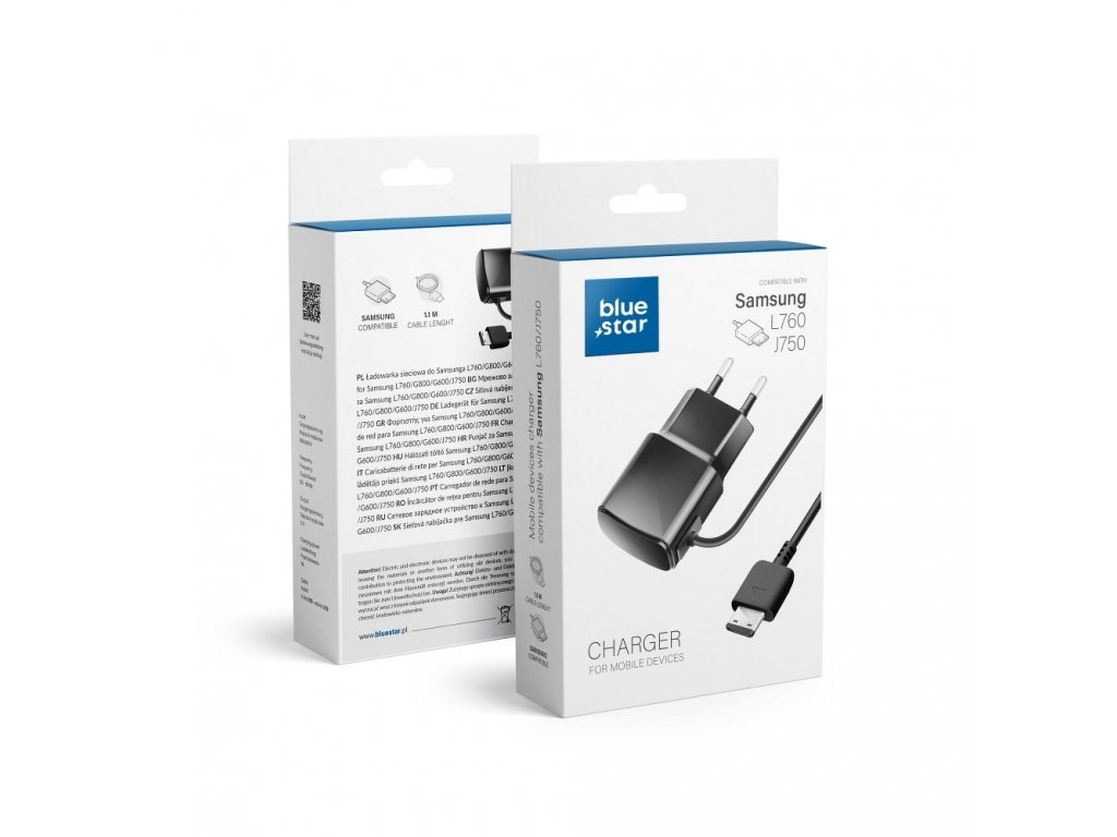 Cestovní nabíječ pro Samsung L760/G800 New Blue Star