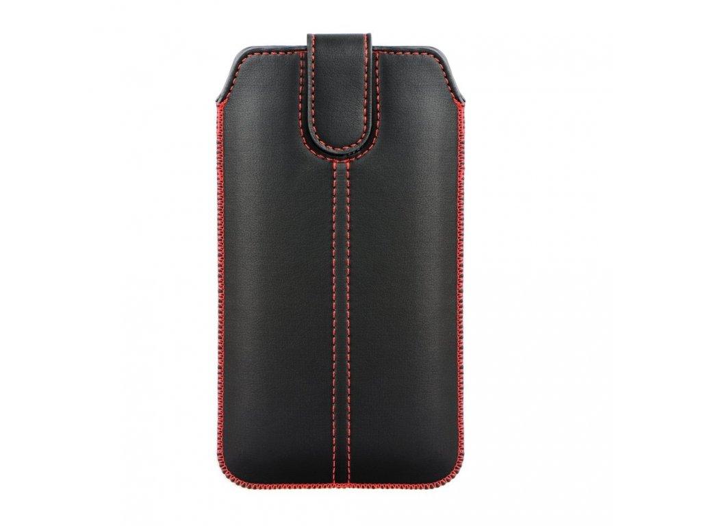 Forcell Pocket Pouzdro Ultra Slim M4 - pro Samsung S10/Note 10/J3 2017 /Sony Xperia Z3/Z4/Z5 Huawei P30/P9/P9 LiteN Xperia Z1/Z2/Z3/Z4/Z5/M5/P9/P9 Lite/Galaxy J3 2017 black