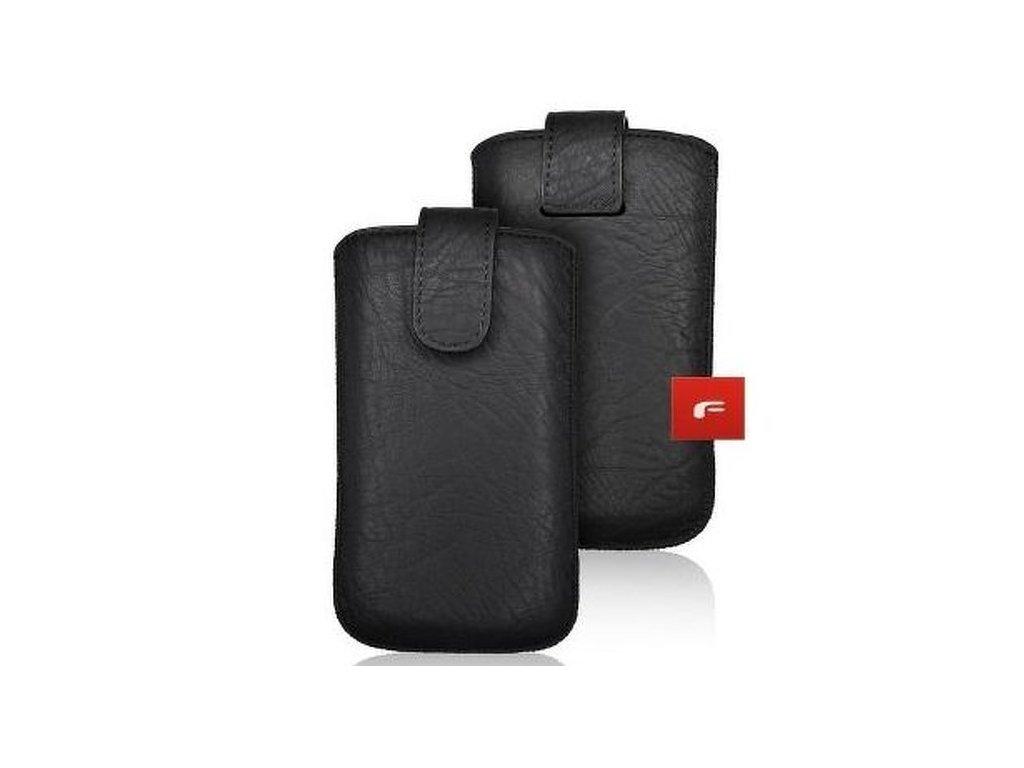 Pouzdro Forcell Slim Kora 2 - pro Samsung S10/Note 10/J3 2017 /Sony Xperia Z3/Z4/Z5 Huawei P30/P9/P9 Lite black