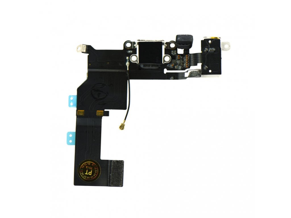 Charging Connector Flex Cable APP IPHO 5S white
