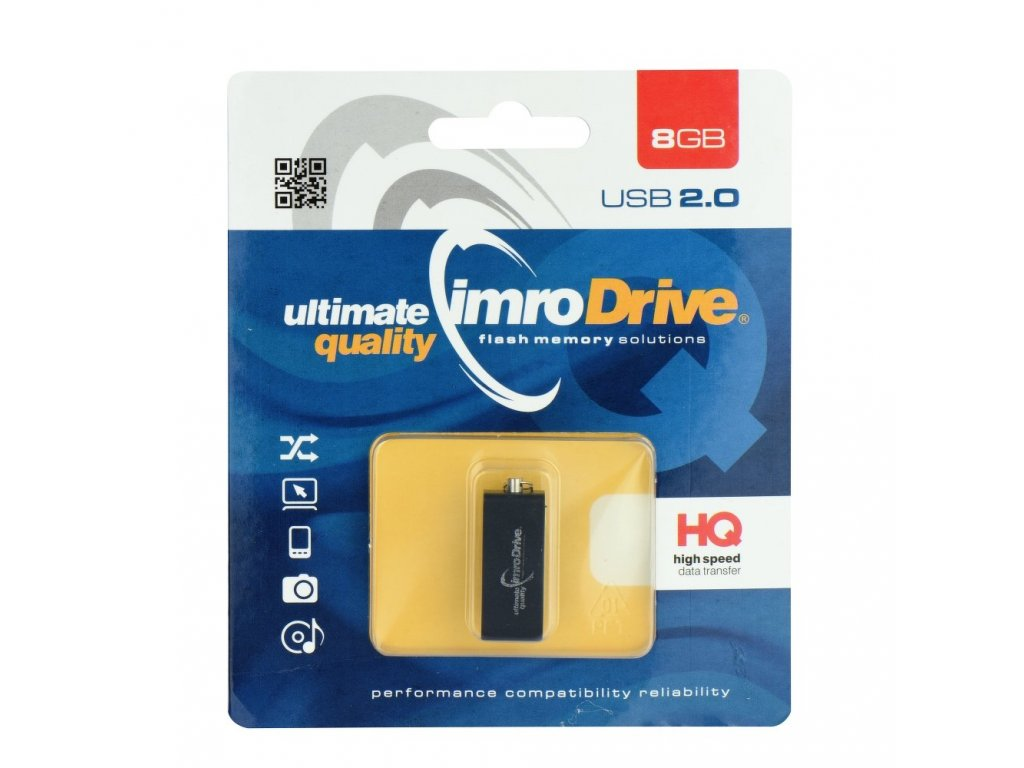 Portable Memory Pendrive Imro Edge 8 GB