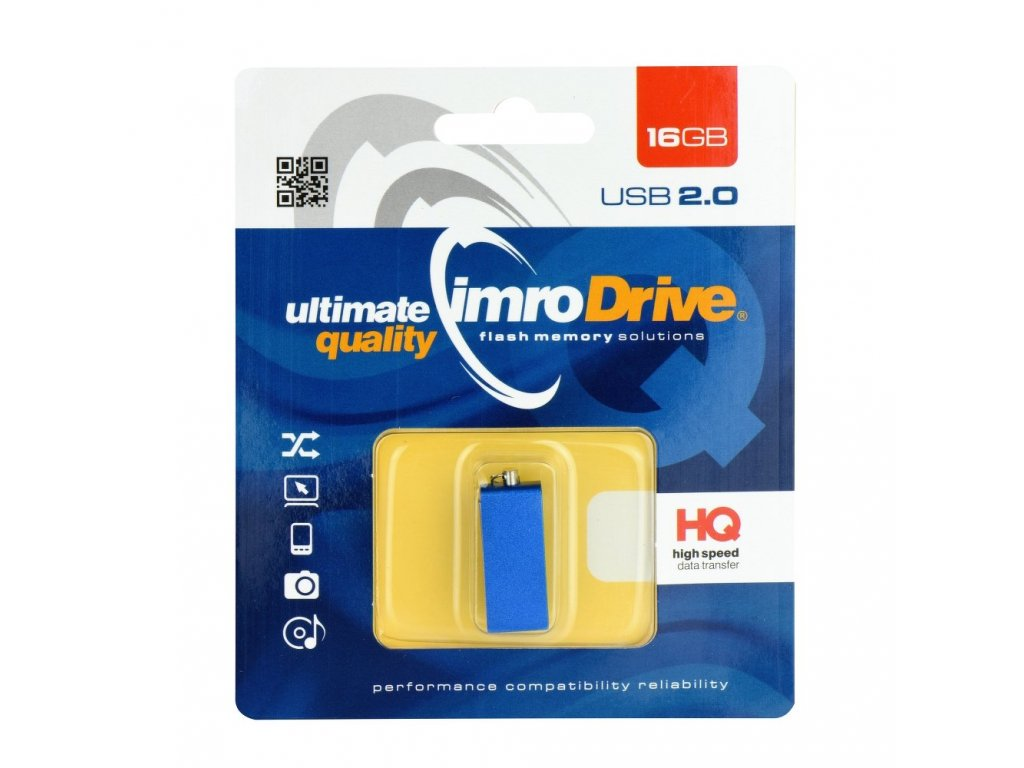 Portable Memory Pendrive Imro Edge 16 GB