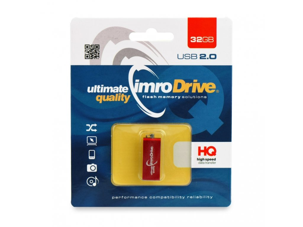 Portable Memory Pendrive Imro Edge 32 GB