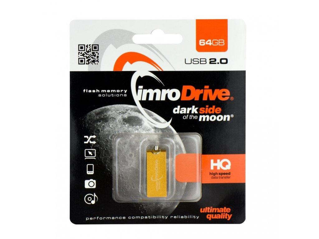 Portable Memory Pendrive Imro Edge 64 GB