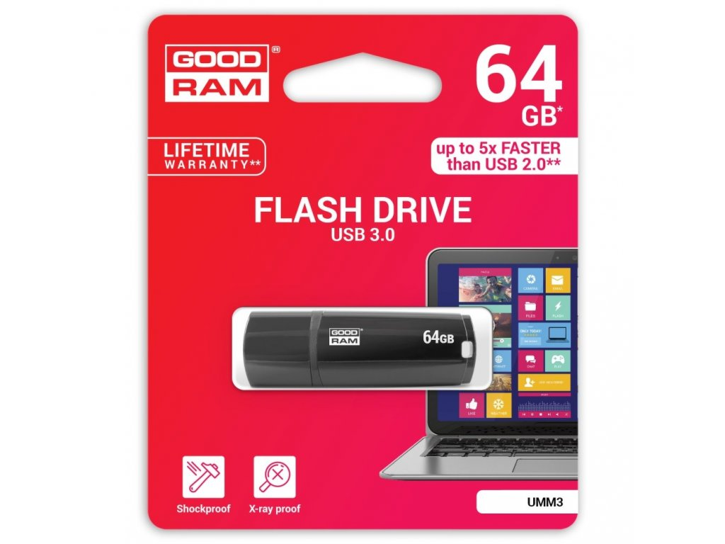 USB Memory GOODRAM UMM3 64GB USB 3.0
