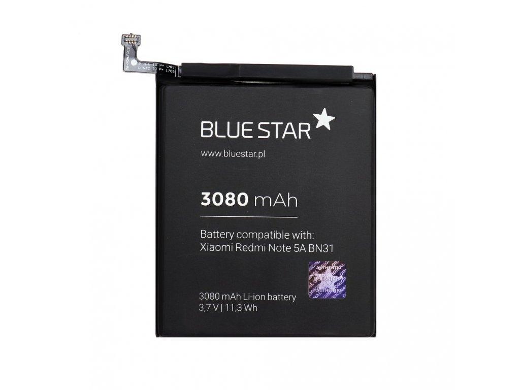 Baterie pro Xiaomi Redmi Note 5A/5X (BN31) 3080 mAh Li-Ion Blue Star