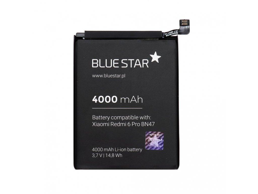 Baterie pro Xiaomi Redmi 6 PRO/A2 Lite (BN47) 4000 mAh Li-Ion Blue Star