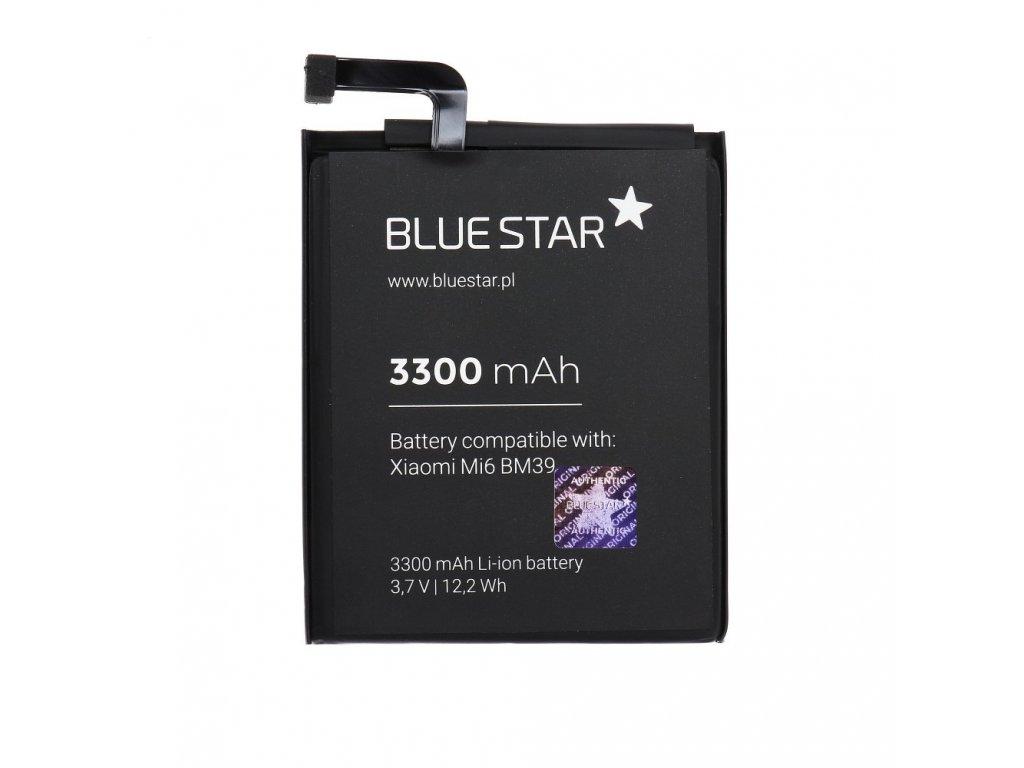 Baterie pro Xiaomi Mi6 (BM39) 3300 mAh Li-Ion Blue Star