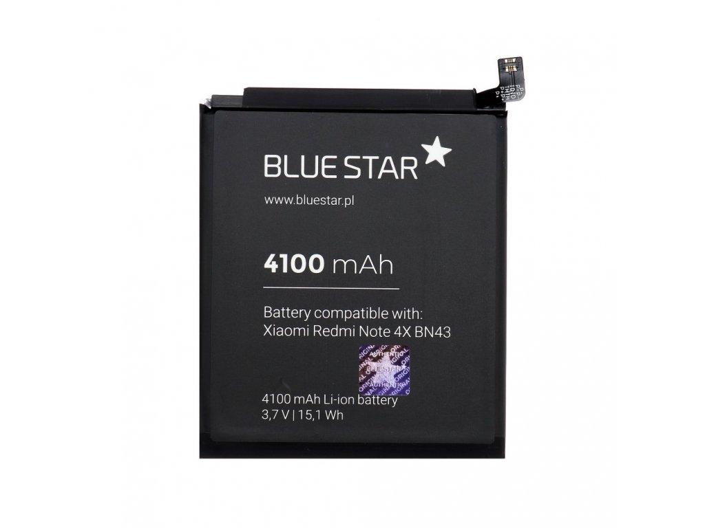 Baterie pro Xiaomi Redmi Note 4X (BN43) 4100 mAh Li-Ion Blue Star