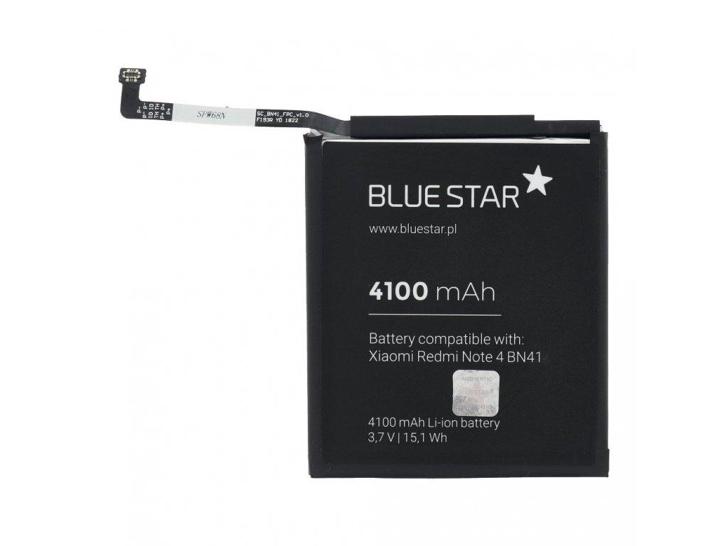 Baterie pro Xiaomi Redmi Note 4 (BN41) mAh Li-Ion Blue Star
