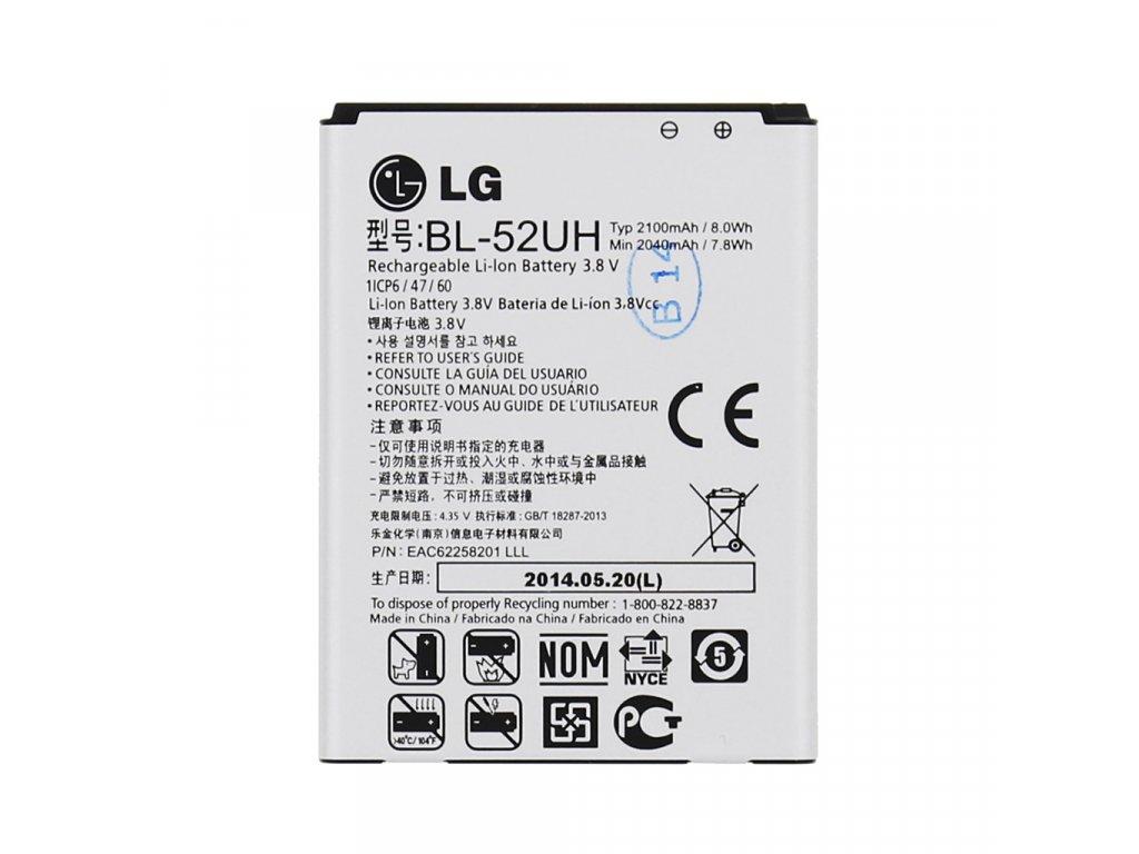 BL-52UH LG Baterie 2100mAh Li-Ion (Bulk)