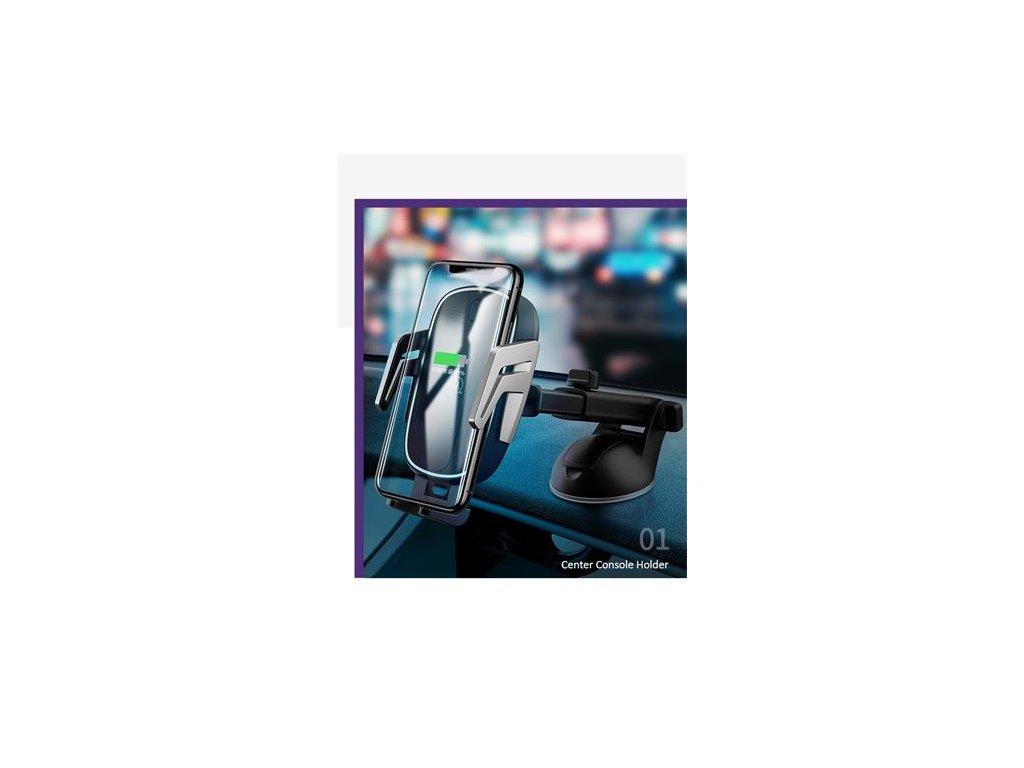 USAMS CD101 Automatic Touch Držák do Auta vč. Bezdrátového Dobíjení (EU Blister)