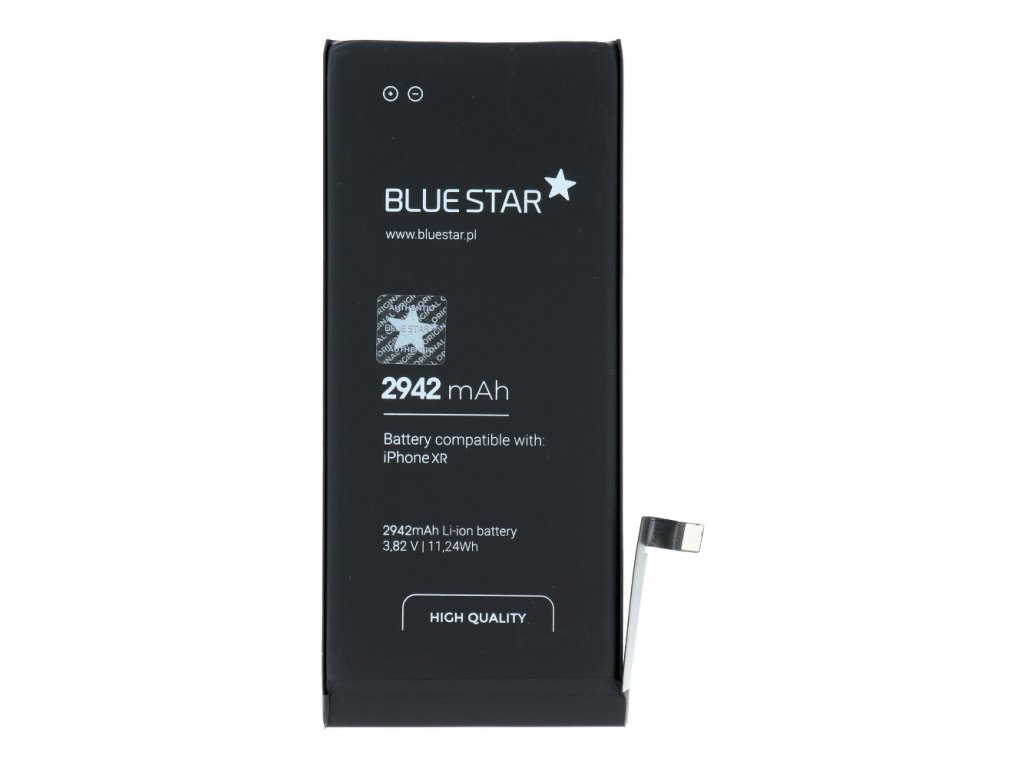 Baterie pro Iphone XR 2942 mAh Polymer Blue Star HQ