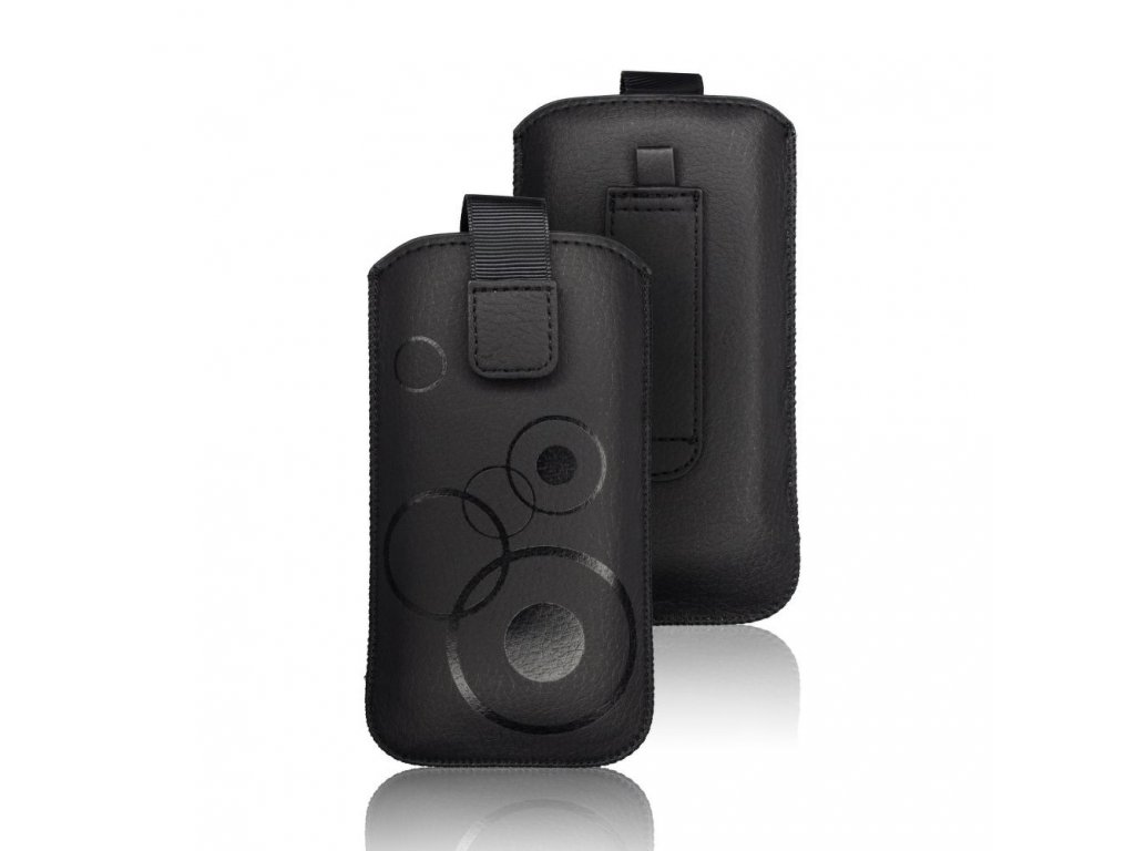 procell Deko Pouzdro - pro Iphon 6 Plus / 7 Plus / 8 Plus / XS Max / 11 Pro Max/ Samsung S10+/A10/A30s/A50 black