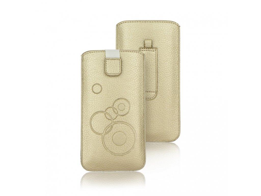 procell Deko Pouzdro - pro Iphon 5/5S/5SE/5C gold