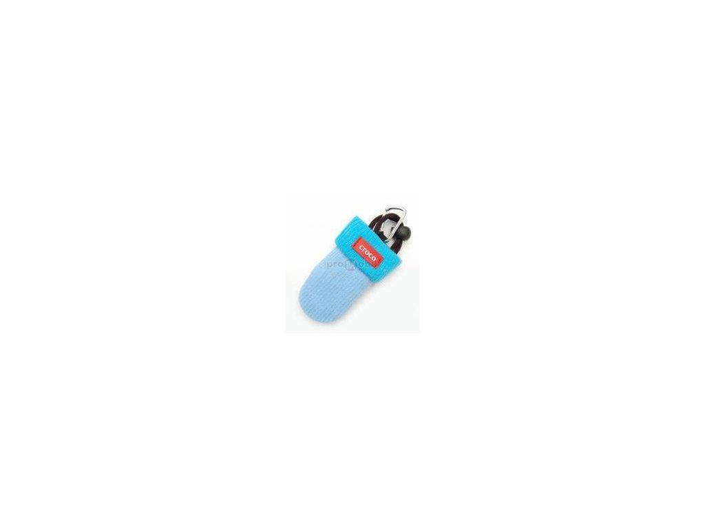 Pouzdro croco kulich modro modré