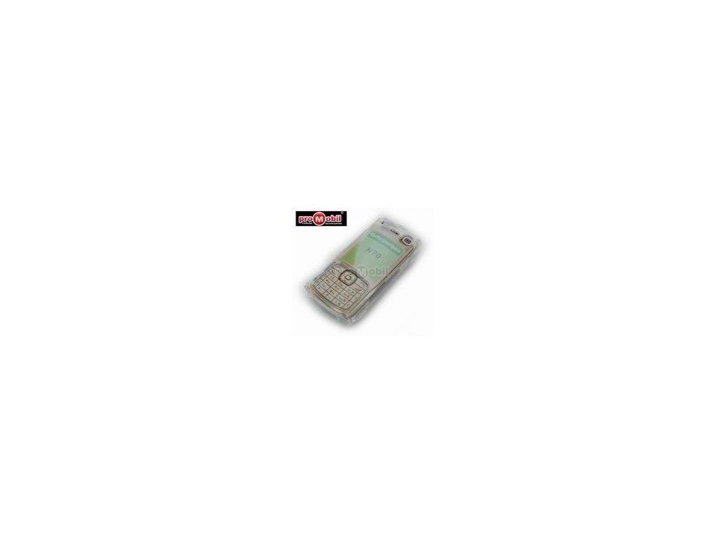 Crystal pouzdro pro Nokia N70