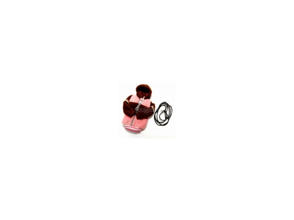 Fashion pouzdro bundička růžovo - hnědá