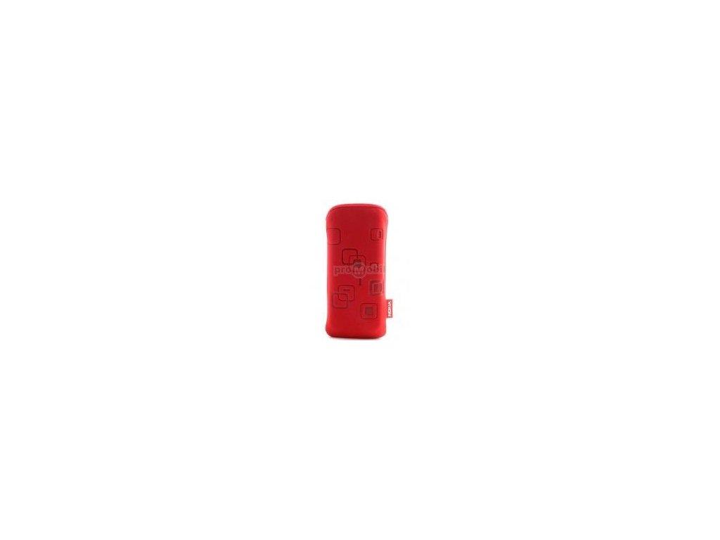 Pouzdro Nokia 6300, 6500c, 6120c, 5310, 2630 červené - originál