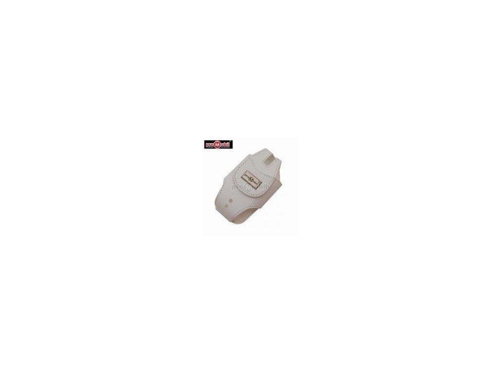 Vertikální pouzdro VP55 - bílé (Motorola V60/Samsung E530)