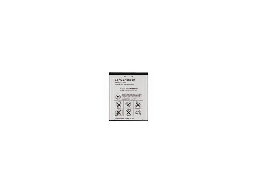 Baterie Sony Ericsson BST-33 - 950mAh Li-Polymer - originál