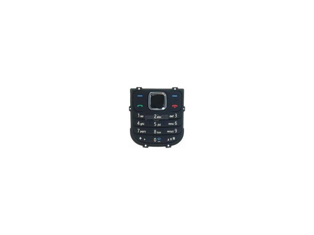 Klávesnice Nokia 1680 černá - originál