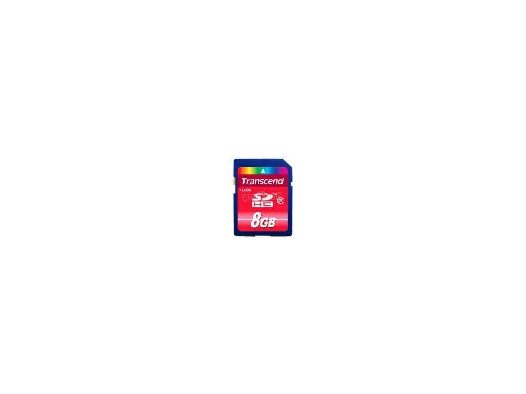 Paměťová karta Transcend SDHC 8GB Class 2