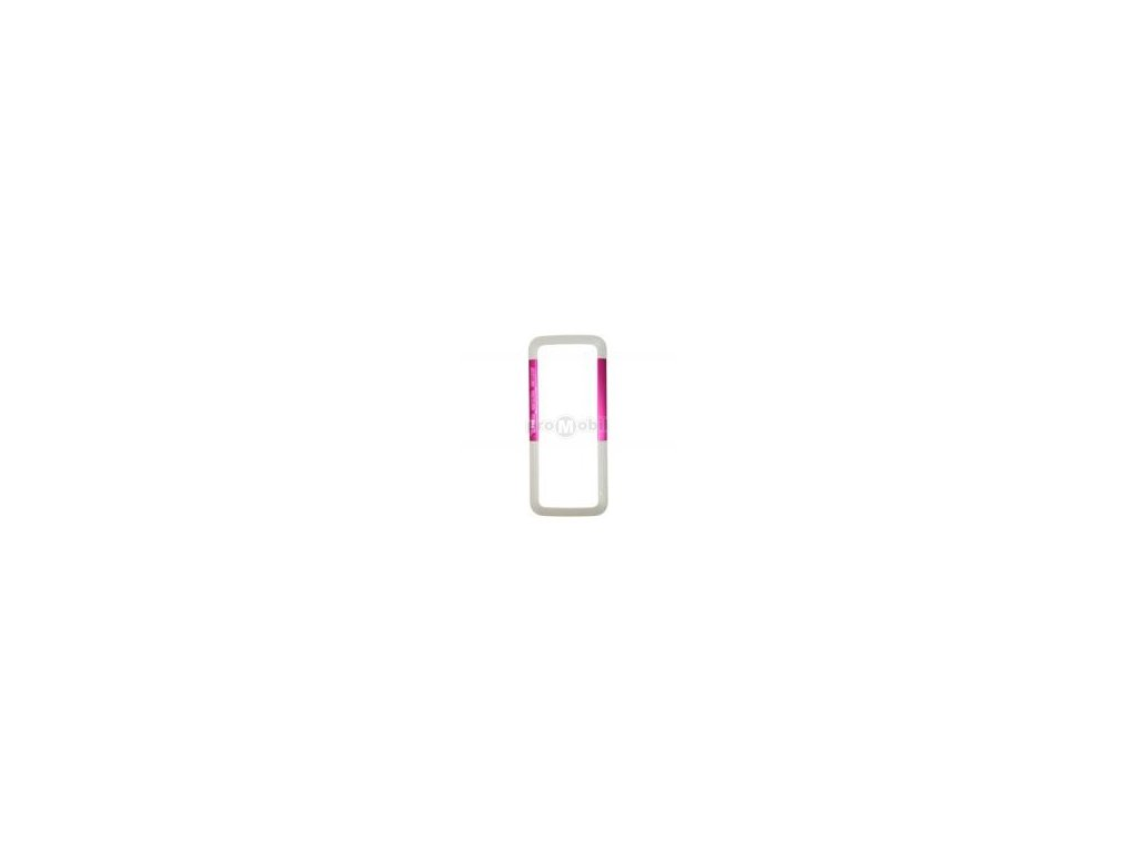 Front cover Nokia 5310 white/pink  - original