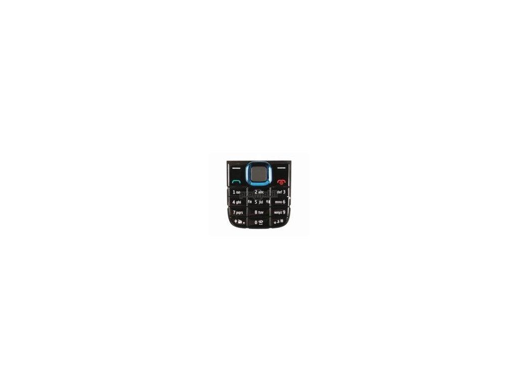 Klávesnice Nokia 5130 modrá  - originál