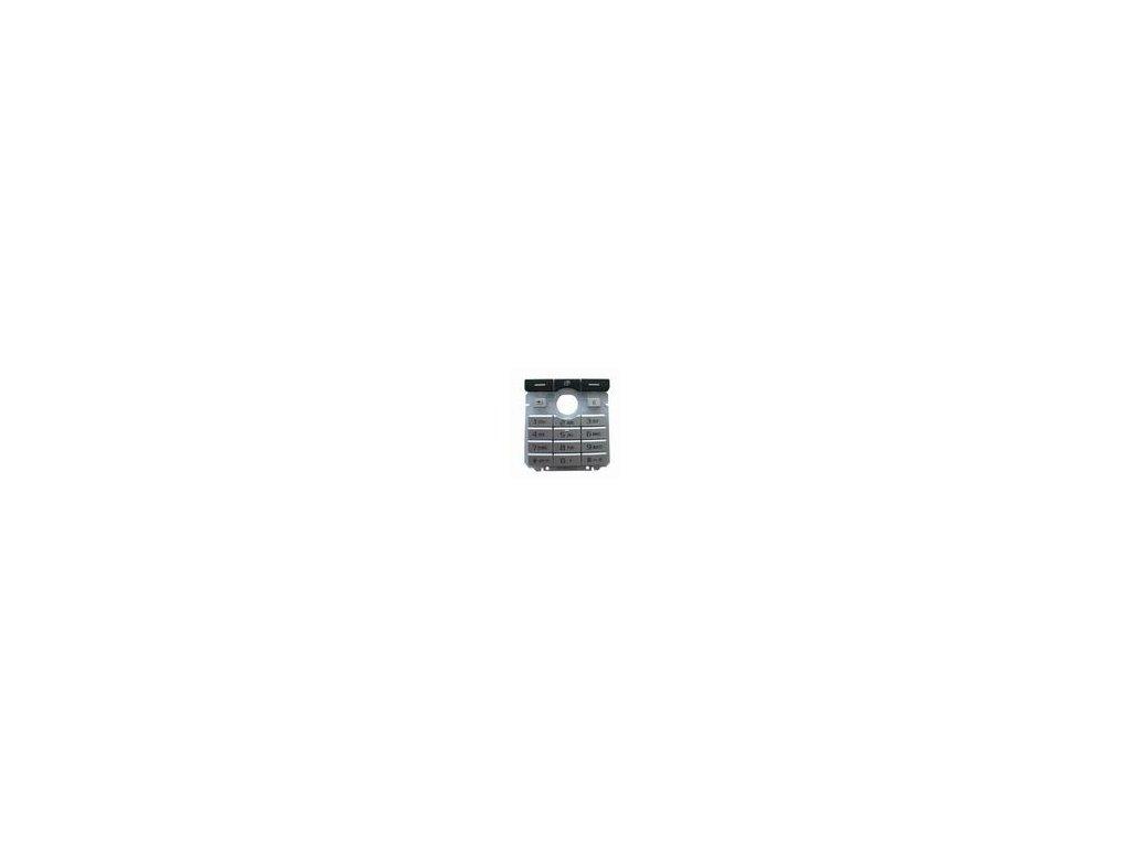 Klávesnice Sony Ericcson K750 stříbrná - original